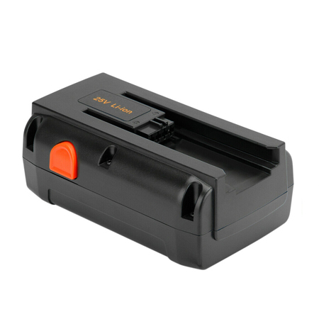 25V 5000mAh Replacement Battery for Gardena 04025-20 8838 380 Li Spindle Mower 380C 380