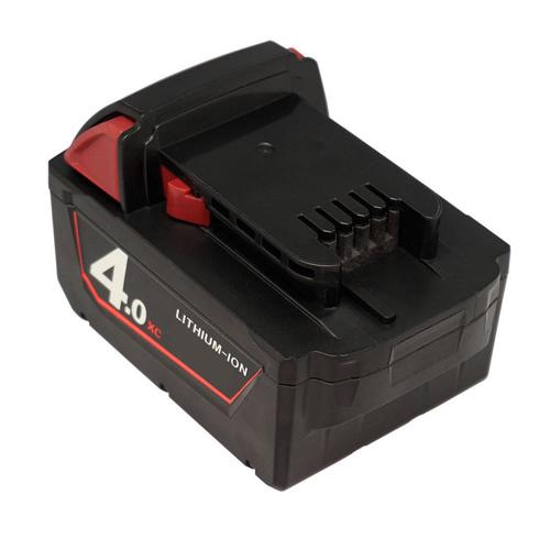 18V 4.0AH Replacement Tool Battery for Milwaukee M18B M18B2 M18B4 M18BX XC