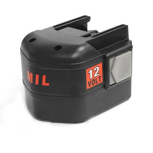 3000mAh 12V Replacement Power Tools Battery for Milwaukee 48-11-1967 B 12 MXL 12