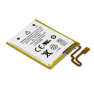 3.7V 0.8Wh Replacement Battery for Apple iPod Nano 7 7th Generation Gen 616-0639