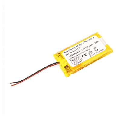 3.7V 330mAh Replacement Battery for Apple iPod Nano 1 1st Gen MP3 1GB 2GB 4GB