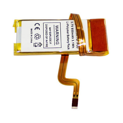 3.7V 850mAh Replacement Battery for Apple iPod Video 5th Gen 30GB 616-0229