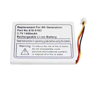 3.7V 800mAh Replacement Battery for Apple iPod Photo 4th Gen 20GB 30GB 40GB 60GB