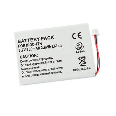 3.7V 750mAh Replacement Battery for Apple iPod M9282CH/A M9282FE/A M9282J/A M9282KH/A