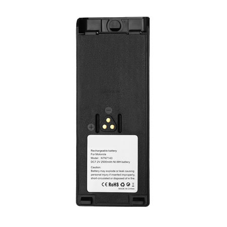 2500mAh Replacement Ni-MH Battery for Motorola NTN7143 NTN7143A NTN7144A