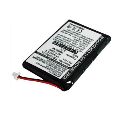 3.7V 1600mAh Replacement Li-ion Battery for Garmin 1A2W423C2 A2X128A2 iQue 3200 3600 3600a