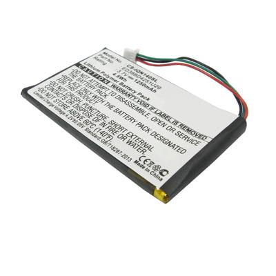 3.7V 1250mAh Replacement Li-Polymer Battery for Garmin Nuvi 1450 1450T 1490T Pro 1490LMT