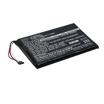 3.7V 1500mAh Replacement Li-ion Battery for Garmin 2689LMT 6-inch Nuvi 2689LMT 010-01188-02