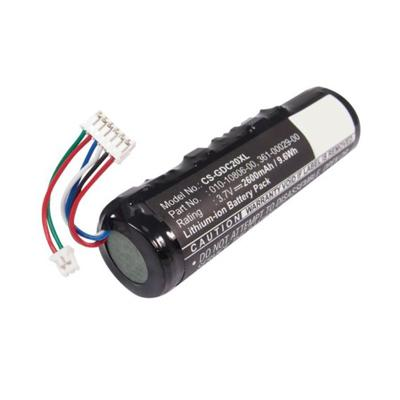 3.7V 2600mAh Replacement Li-ion Battery for Garmin 010-10806-01 010-10806-20 Astro System DC20
