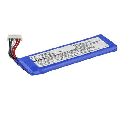 3.7V 3000mAh Replacement Li-Polymer Battery for JBL GSP872693 01 Flip 4 Special Edition