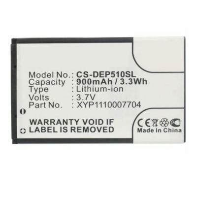 3.7V 900mAh Replacement Battery for Doro DBC-800A DBC-800B DBC-800D XYP1110007704