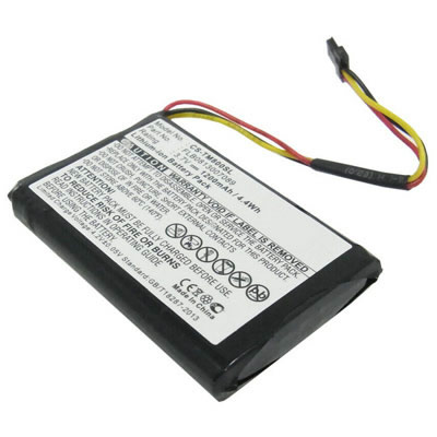 3.7V 1200mAh Replacement Battery for TomTom FLB0813007089 One XL Europe Traffic