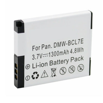 3.70V 1300mAh Replacement Battery for Panasonic DMW-BCL7 DMW-BCL7E