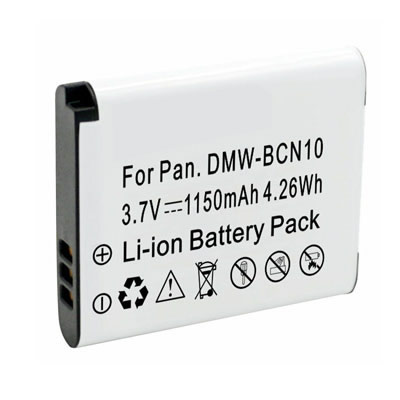 3.70V 1150mAh Replacement Battery for Panasonic DMW-BCN10 DMW-BCN10E DMW-BCN10PP