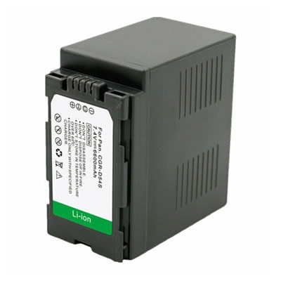 7.20V 6600mAh Replacement Battery for Panasonic CGA-D54SE/1H CGR-D54 CGR-D54S CGR-D54SE