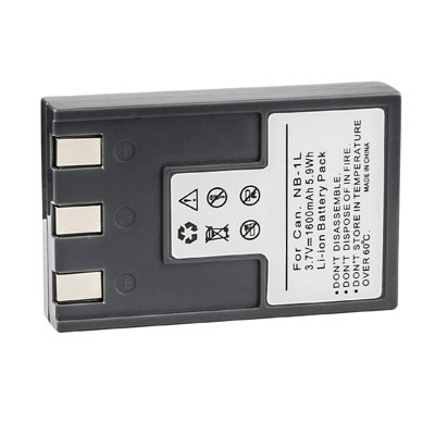 3.70V Replacement Battery for Canon Digital IXUS 200a 300 300a 320 330 400 430 500