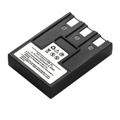 3.70V 1600mAh Replacement Battery for Canon PowerShot SD500 SD550 Digital IXUS 700 750 i i5