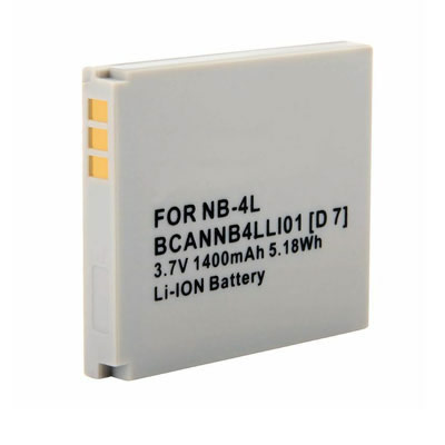 3.70V Replacement Battery for Canon PowerShot SD40 SD400 SD430 SD450 SD600 SD630