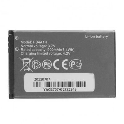 3.7V 900mAh Replacement Battery for Huawei HB4A1H M318 U120 U121 U5705