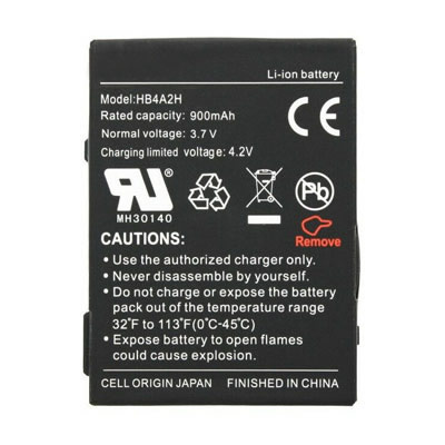 3.7V 900mAh Replacement Battery for Huawei HB4A2H M328 METRO PCS