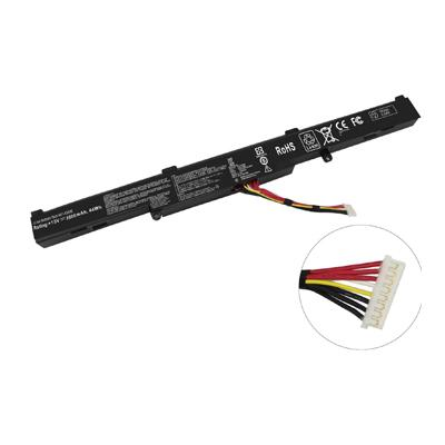 15V 44Wh Replacement Laptop Battery for Asus A41-X550E D451V D451E K450V K550E K550D Series